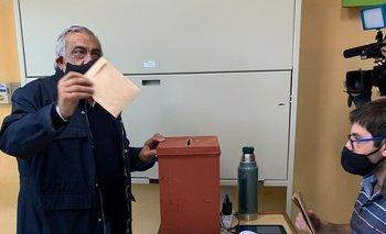 El exintendente y candidato por Río Negro Omar Lafluf