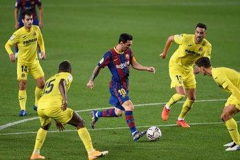 El adiós de Messi a Barcelona