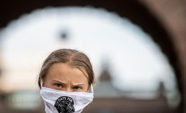 Greta Thunberg llama a votar por Biden en las elecciones de EEUU
