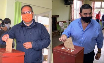 Guillermo Caraballo y Nicolás Olivera, los contendientes de Paysandú