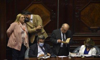 Bianchi y Asian fueron las legisladoras que se opusieron inicialmente