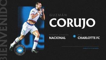 Guzmán Corujo fue presentado en Charlotte FC