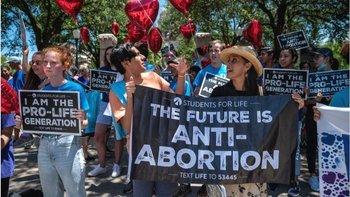 Manifestaciones provida tuvieron lugar en Texas