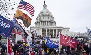 El asalto al Capitolio por parte de los seguidores de Donald Trump en enero marcó un momento de crisis de la democracia de EE.UU.