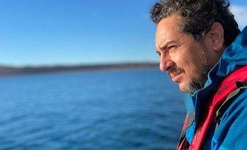 Maximiliano Jonas vive en la Patagonia y es un apasionado del mar