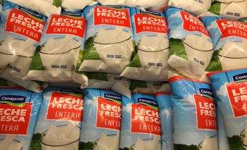 Como sucede cada seis meses, subió el precio de la leche.