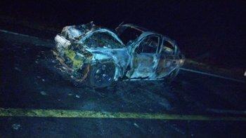 El accidente se dio minutos antes de las 4:00 en el kilómetro 31 de ruta 11
