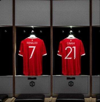 Las camisetas de Cristiano Ronaldo y Edinson Cavani ya están a la venta