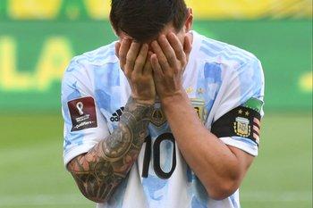 La imagen de Messi lo dice todo