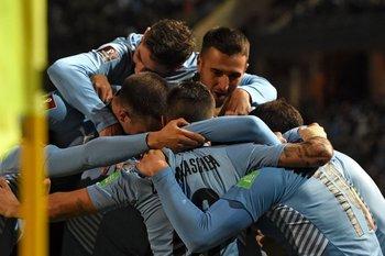 Uruguay ganó siete puntos de los nueve disputados en las Eliminatorias