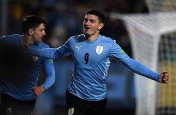 Álvarez Martínez convirtió su primer gol con la selección