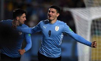 Agustín Álvarez Martínez debutó contra Bolivia este mes y lo hizo con gol