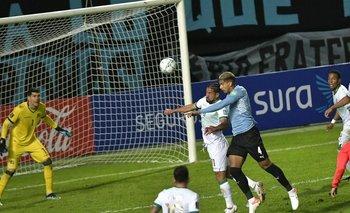 Contra Bolivia, Araújo jugó recién su segundo partido
