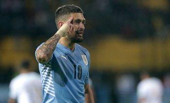 De Arrascaeta convirtió tres goles para Uruguay en la fecha reciente de Eliminatorias
