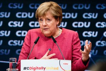 Angela Merkel, expresidenta de Alemania
