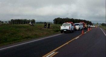 Accidente fatal en Ruta 8, kilómetro 277