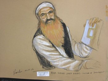 Mohammed en el tribunal en 2012