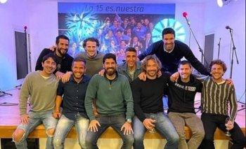 Los campeones de la Copa América 2011 compartieron un encuentro a 10 años del título