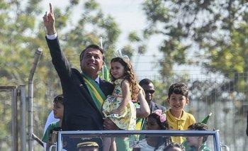 Jair Bolsonaro en Brasilia