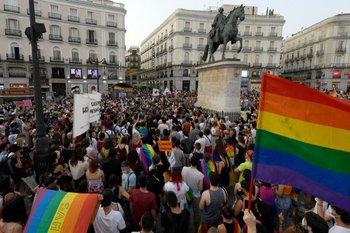 En Madrid se han concentrado varias de las movilizaciones para protestar contra los ataques de la comunidad LGTBIQ+.