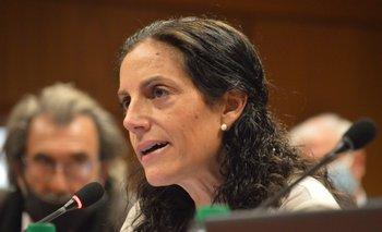 La ministra presentó la Rendición de Cuentas en el Senado