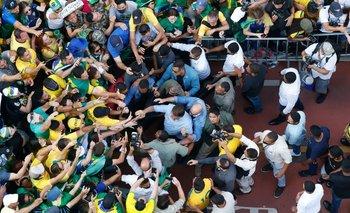 Bolsonaro volvió a apuntar contra la Justicia este martes
