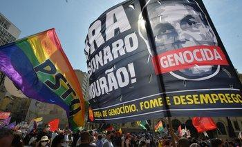 Manifestaciones contra Bolsonaro