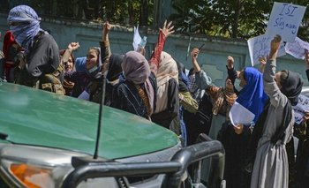 Protestas contra los talibanes en Afganistán
