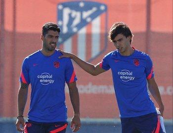 Luis Suárez y Joao Félix