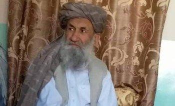El Talibán divulgó esta foto reciente de su nuevo primer ministro interino, el mulá Mohamed Hassan Akhund