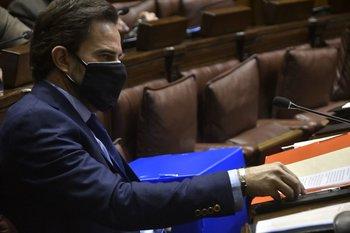Diputados vota preinvestigadora sobre la gestión del ministro Cardoso
