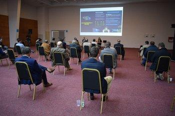La reunión consideró el cumplimiento de los protocolos sanitarios.