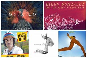 Las portadas de los discos recomendados de este mes