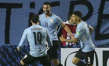 Pereiro, Piquerez y Fede Martínez lo festejan