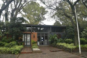 La sede de la ARU en el predio de la Rural del Prado.