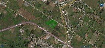 El predio tiene una superficie de 3,3692 hectáreas,