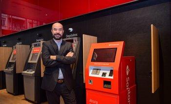 Juan Manuel Gasparri, gerente de Banca Persona de Banco Santander,.
