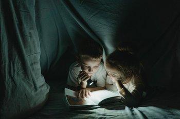 La lectura en voz alta nos remite a la infancia