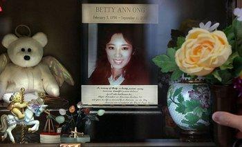 Betty Ong fue la primera persona en alertar sobre el secuestro de los aviones del 11S.