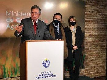 Fernando Mattos, Ignacio Buffa y Fernanda Maldonado.