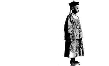 Puyi, el último emperador de China.