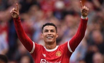 Cristiano Ronaldo convirtió dos goles en su regreso a Old Trafford