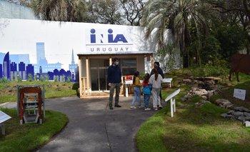 El stand de INIA en la Expo Prado.