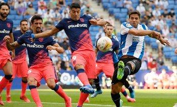 Luis Suárez ante Espanyol de Barcelona