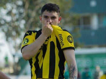 Álvarez Martínez, el goleador de Peñarol y de la Copa Sudamericana