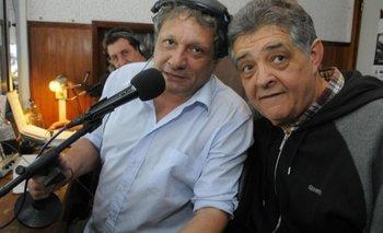 Alberto Kesman junto a Enrique Yannuzzi en las transmisiones deportivas de radio Universal
