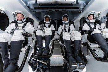 Prueba de los tripulantes de SpaceX