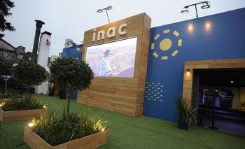 El stand del INAC en la Expo Prado 2021.