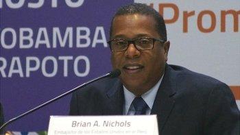 Brian Nichols desempeñó en el pasado varios cargos diplomáticos de EE.UU. en América Latina