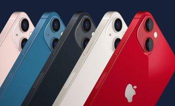 Así es el nuevo iPhone 13.
